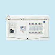 日東工業 ホーム分電盤エコキュート(電気温水器)+IH用リミッタスペースなしHCB形ホーム分電盤 (ドア付)露出・半埋込共用型(プラスチックキャビネット使用)HCB3E10-342TL4B
