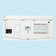 日東工業 ホーム分電盤エコキュート(電気温水器)+IH+蓄熱用リミッタスペース付HCB形ホーム分電盤 (ドア付)露出・半埋込共用型(プラスチックキャビネット使用)HCB13E6-302TL434B