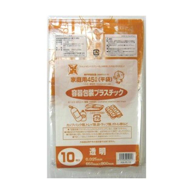 �sss】�代引��� (�料無料) 神戸市指定 ゴミ袋 プラス�ック用(45L) 10枚×60冊 07292