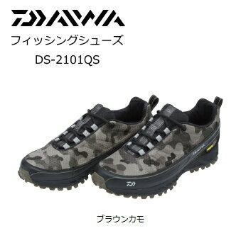 ダイワ フィッシングシューズ DS-2101QS ブラウンカモ / 26.5cm (お取り寄せ商品)