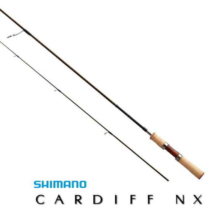 シマノ カーディフ NX S37L / トラウトロッド