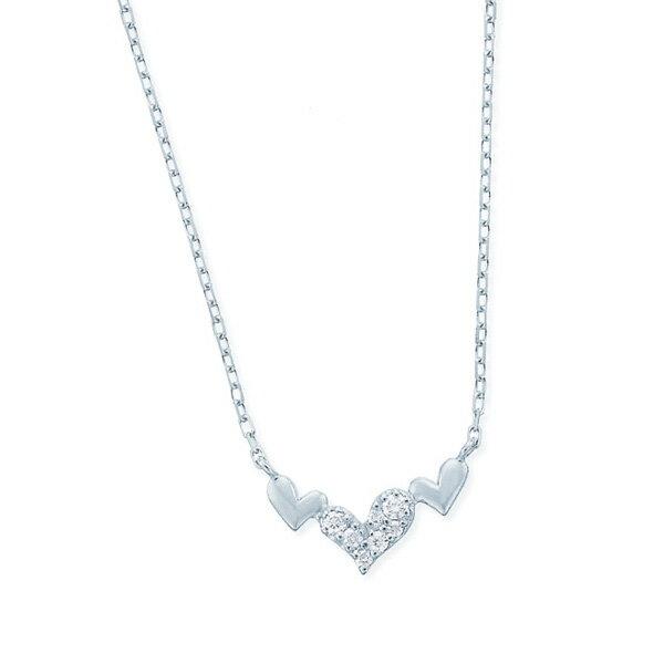 ホワイトゴールドダイヤモンドネックレス ダイヤモンド ネックレス