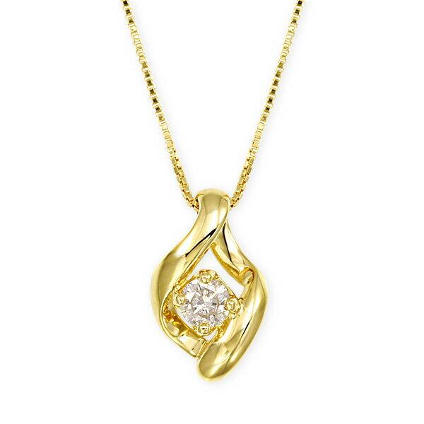 K18ダイヤモンドネックレス ダイヤモンド ネックレス