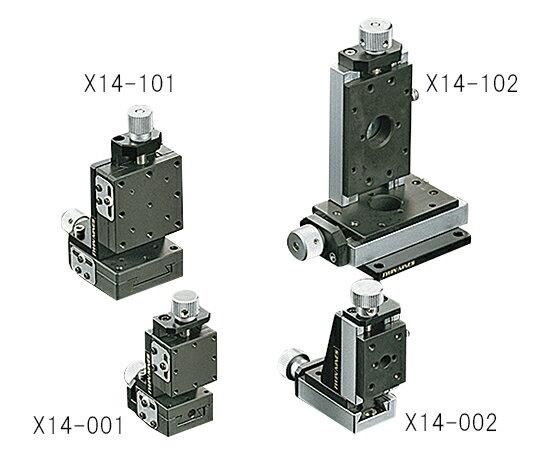 ★最大P10倍★ 2/3-2/8【全国配送可】-ステージ XZ軸 40×40mm  型番X14-002  aso3-5128-17 -【研究用機器】