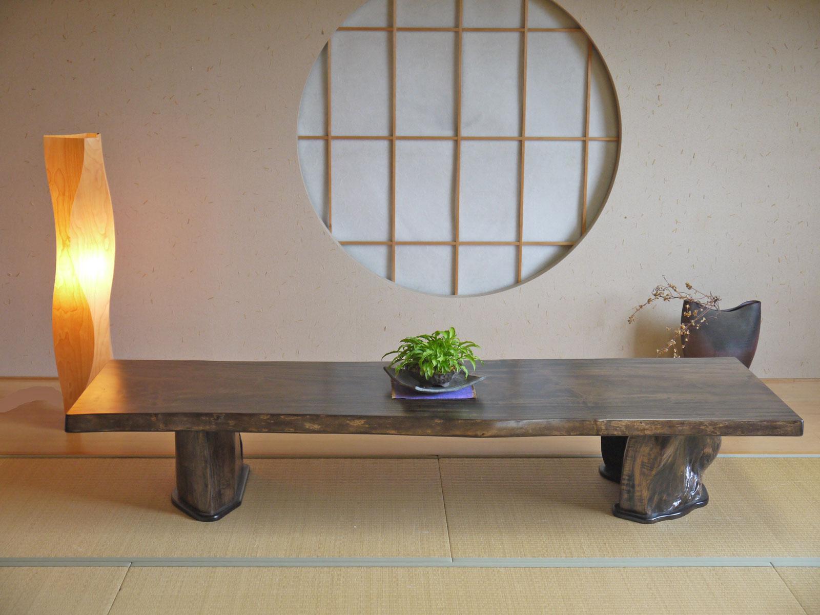 最新の正品 ~ローテーブル~仕様:無垢 / 素材:栃