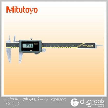 ミツトヨ デジマチックキャリパー・ソーラータイプ デジタルノギス(500-445)   CD-S20C