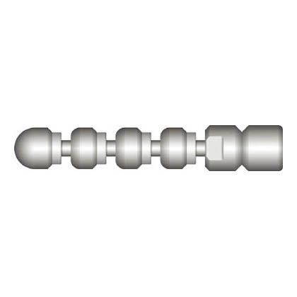 アサダ 1/4スズランノズルM2型 (HD00157)