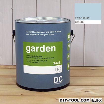 DCペイント 屋外用多用途水性塗料 Garden(屋外用ペイント) 【0630】Star Mist 約3.8L atom 塗料 水性塗料