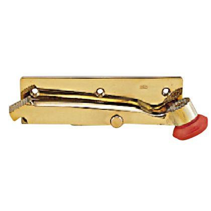 ベスト 402 ドアホルダー横型 左 黄銅磨き (-547099)