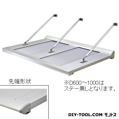 DAIKEN RSバイザー アルミ&ポリカ D900×W3700 (RS-DR)