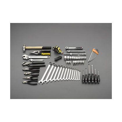 エスコ [66個組]工具セット (EA54)