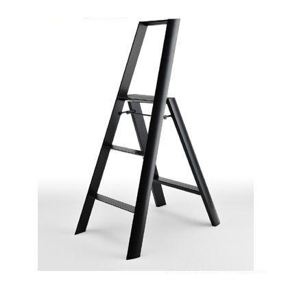 メタフィス ルカーノ 3-step 踏台(踏み台) ブラック (ML2.0-3(BK))