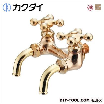 カクダイ 双口ホーム水栓 (705-014-13)