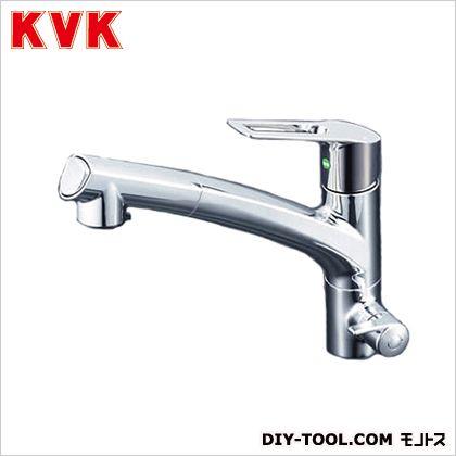 KVK 浄水器付シングルレバー式シャワー付混合栓  奥行×高さ:250×679mm KM5061NSCEC