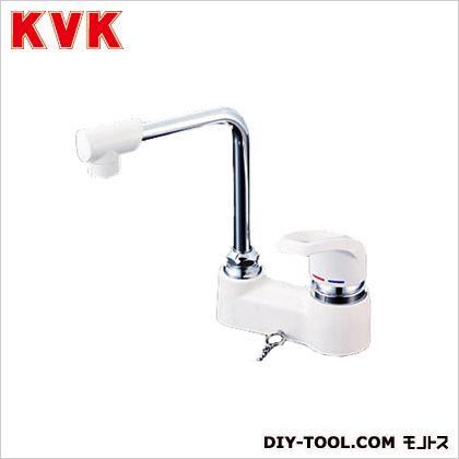 洗面用シングルレバー式混合栓・ゴム栓なし ケイブイケイ 混合栓 洗面用シングルレバー混合栓