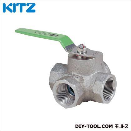KITZ ステンレス製ボールバルブ (UTH4LM1/2B[15A])
