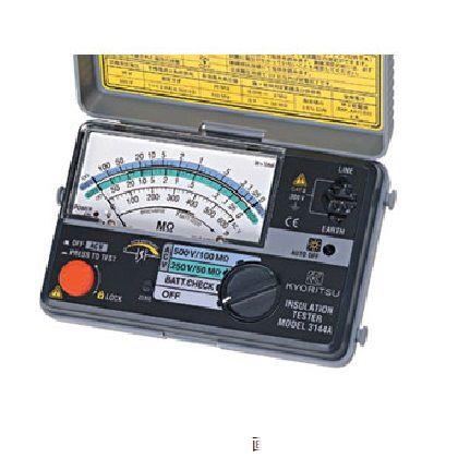 共立電気計器 絶縁抵抗計   MODEL3161A