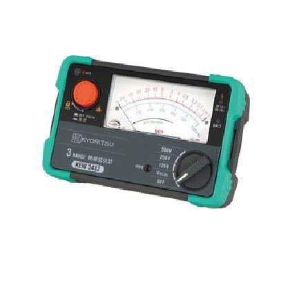 共立電気計器 絶縁抵抗計   KEW3432