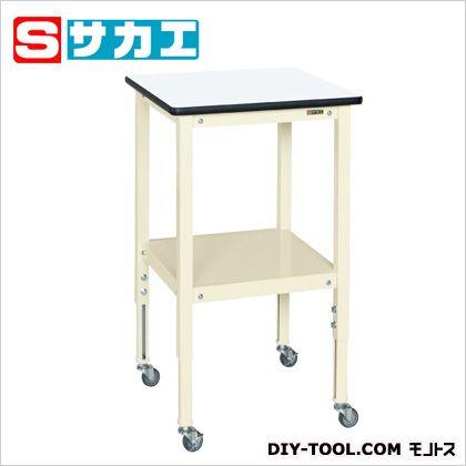サカエ サポートテーブル カラー:アイボリー 天板カラー:ホワイト  TSRT500RI