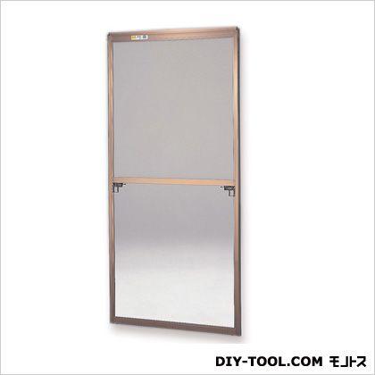 セイキ販売 フリーサイズ網戸外付 H108.5~111.8×W67.5~69.5用 ブロンズ  35-94T