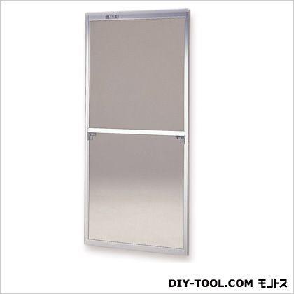 セイキ販売 フリーサイズ網戸 H184~187.3×W129.5~131.5用 シルバー  62-92
