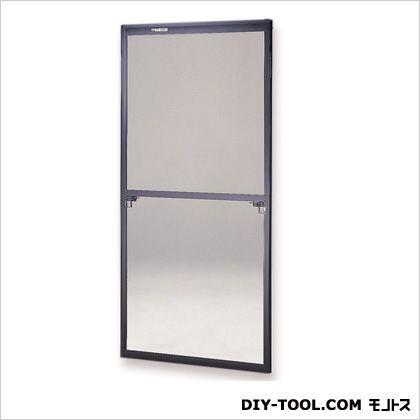 セイキ販売 フリーサイズ網戸 H131~134.3×W87.5~89.5用 ブラック  45-120