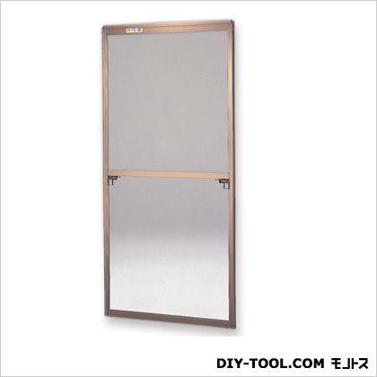 セイキ販売 フリーサイズ網戸外付 H117.5~120.8×W87.5~89.5用 ブロンズ  38-60T
