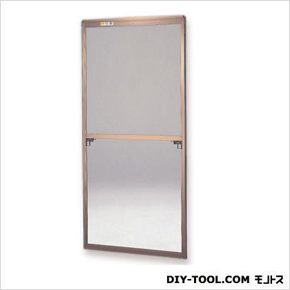 セイキ販売 フリーサイズ網戸 H116~119.3×W87.5~89.5用 ブロンズ  40-120