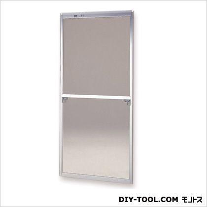 セイキ販売 フリーサイズ網戸 H175~178.3×W84~86用 シルバー  59-60