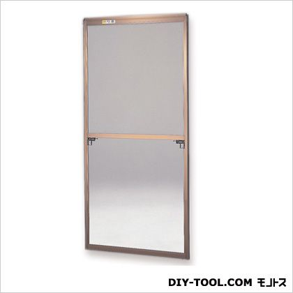 セイキ販売 フリーサイズ網戸外付 H123.5~126.8×W67.5~69.5用 ブロンズ  40-94T