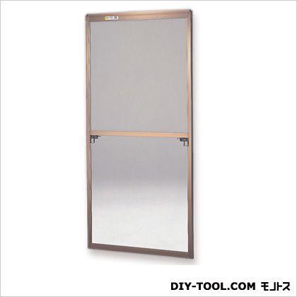 セイキ販売 フリーサイズ網戸 H116~119.3×W65~67用 ブロンズ  40-94