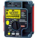 SANWA デジタル絶縁抵抗計 500V/250V/125V 1台 MG500