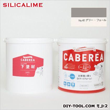 シリカライム カベリア(100%自然素��漆喰�) DIYスターターキット グリー・フェール (CA-KIT-42) シリカライム 補修剤・補修用� ��・床�用補修�