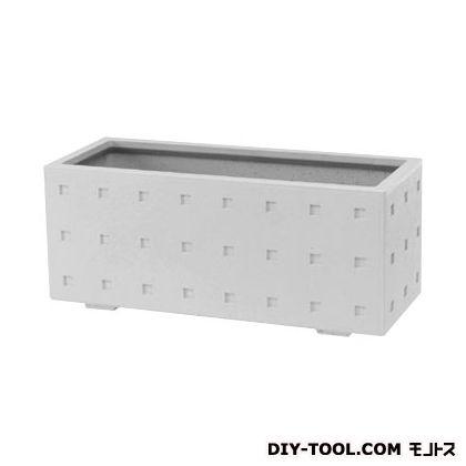 トーシンコーポレーション キュービック(プランター) シルキーグレー W1006×D406×H420 (CUB-1040-SGR)