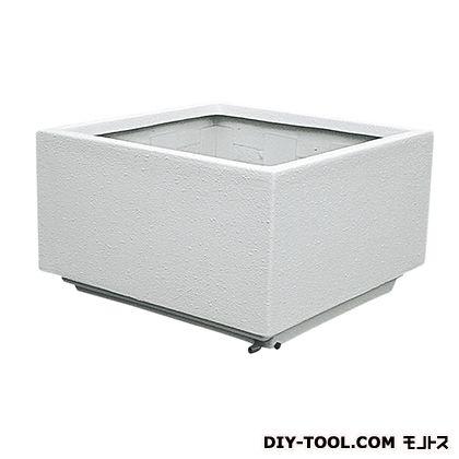 トーシンコーポレーション 大型FRP (角)(プランター) オフホワイト W700×D700×H550 FRK-700SW  個