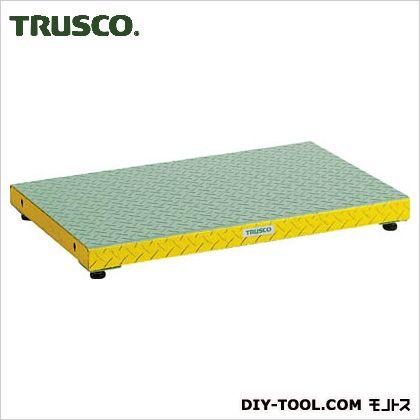 トラスコ 低床用縞鋼板ステップ  900×600×90?120 UFS0960S