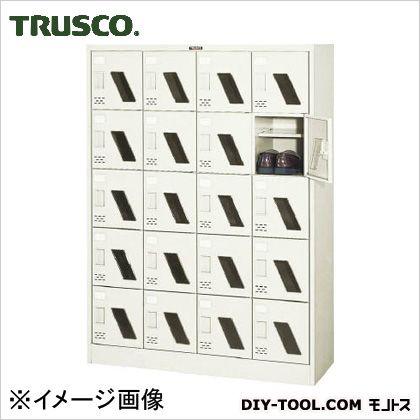 トラスコ シューズボックス20人用窓付  1050×380×1437 SC20WM