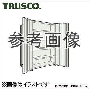 トラスコ 扉付軽量棚 ネオグレー  63XT26