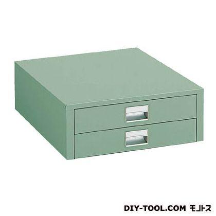 トラスコ UDK型作業台用引出し 薄型 グリーン (UDC-002)