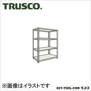 トラスコ M500kg型中量棚 単体 ネオグレー 1200×571×H1800 M56464