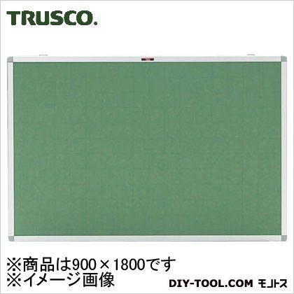 トラスコ エコロジ-クロス掲示板(暗線入り) グリーン 900×1800 (KE36SGA)