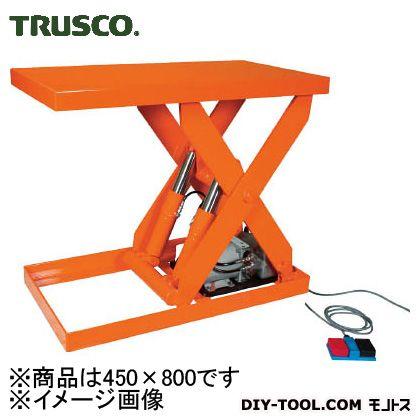 トラスコ 油圧テーブルリフト積載  300kg450×800 HDL300408