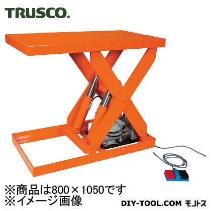 トラスコ 油圧テーブルリフト積載  1000kg800×1050 HDL1000810