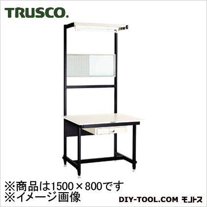 トラスコ 高さ調節セルライン作業台 付属付き  1500×800 CLm150069
