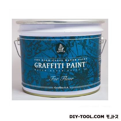 ビビットヴアン グラフィティーペイント フロア 床用水性塗料 Sakura Pink 10L (GFF-06) VIVID VAN 塗料 水性塗料
