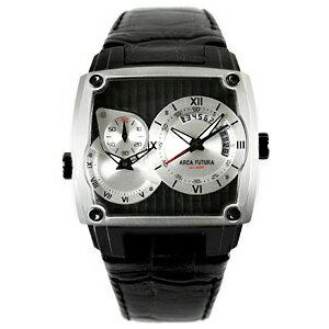 AFSU-E1BL1BK ARCAFUTURA アルカフトゥーラ クォーツ デュアルタイム  メンズ 腕時計 送料無料 送料込 プレゼント