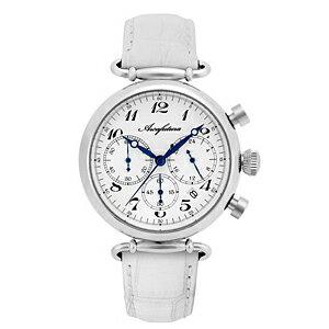 515WHWH ARCAFUTURA アルカフトゥーラ クォーツ 皮バンド クロノグラフ メンズ 腕時計 送料無料 送料込 プレゼント