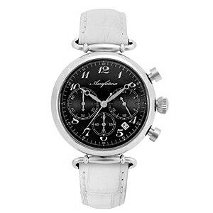 515BKWH ARCAFUTURA アルカフトゥーラ クォーツ 皮バンド クロノグラフ メンズ 腕時計 送料無料 送料込 プレゼント