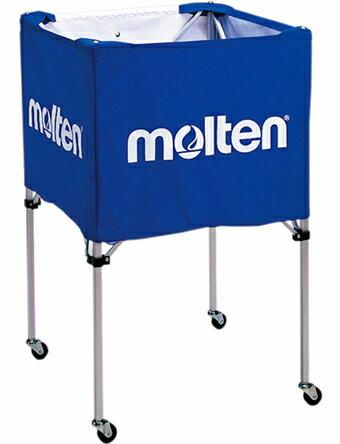 バスケットアクセサリー   モルテン Molten 折りたたみ式ボールカゴ 中背高 Blu