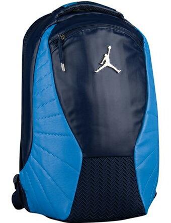 バスケットバッグ  バックパック リュック  ジョーダン ナイキ Jordan Jordan Retro 12 Backpack M.Nvy/U.Blu   ストリート